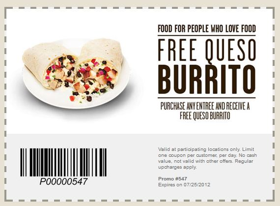 Qdoba bogo coupon 2018