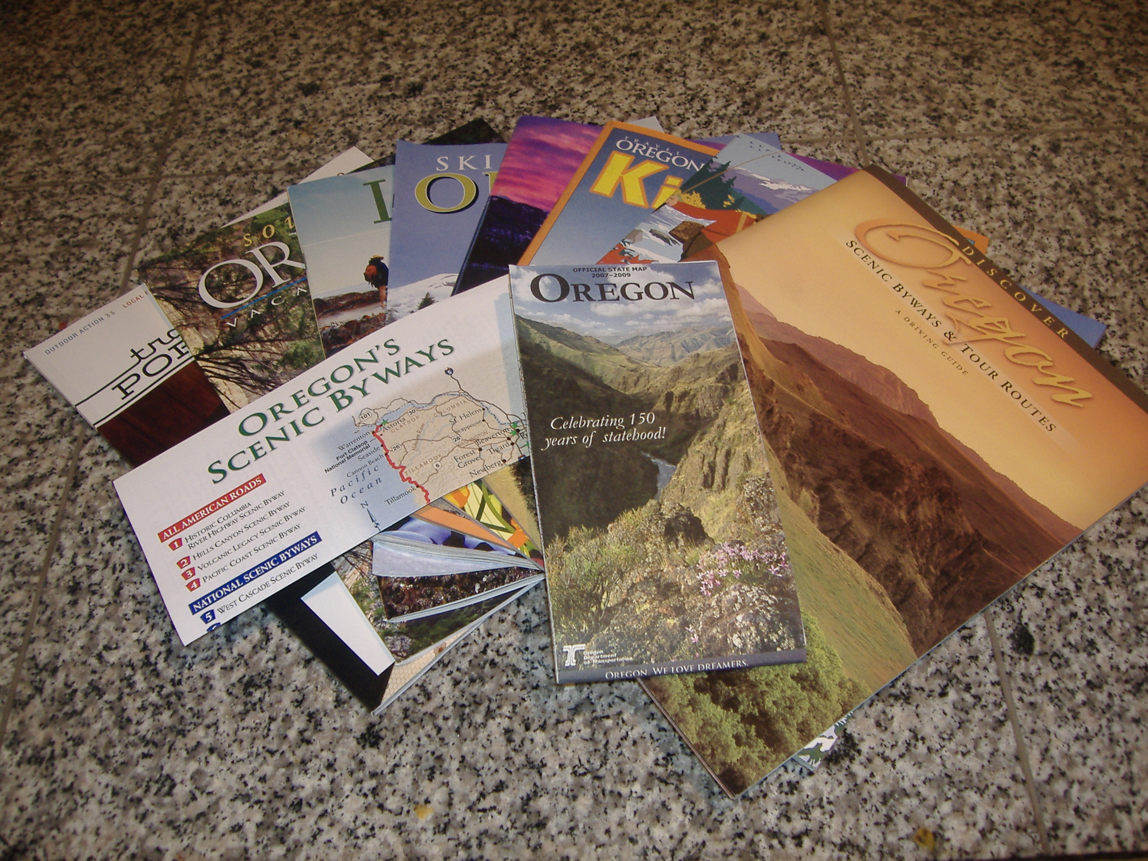 Oregon Guides and Map :)