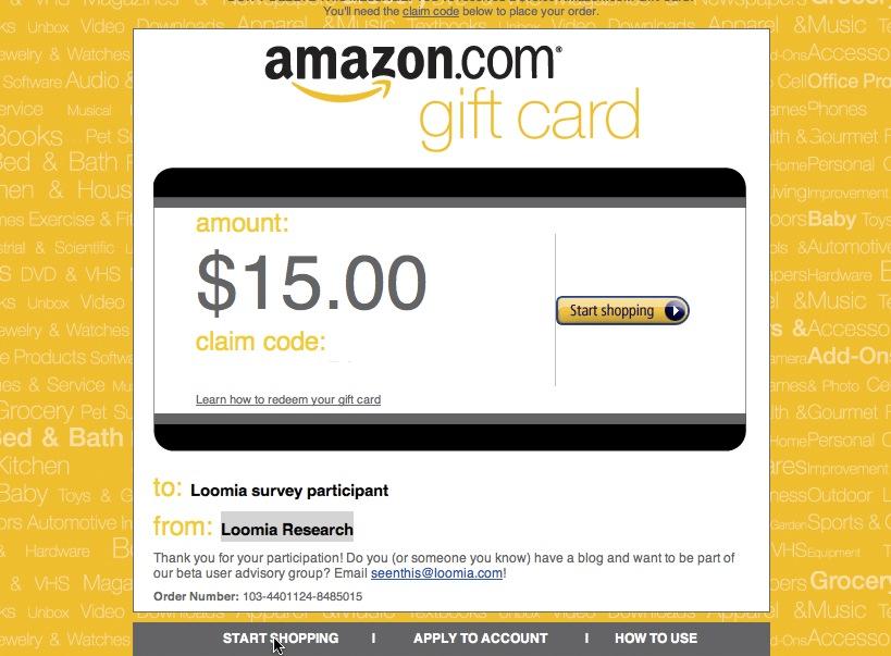 15 Dollar Amazon Gift Code!!! • Free Stuff Times What I Got