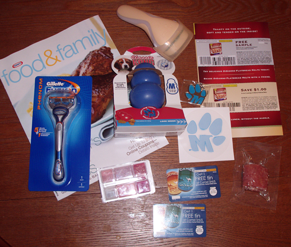 free coupons by mail. and a free sample coupon for