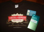 Cheese and Burger T-shirt and Biore
