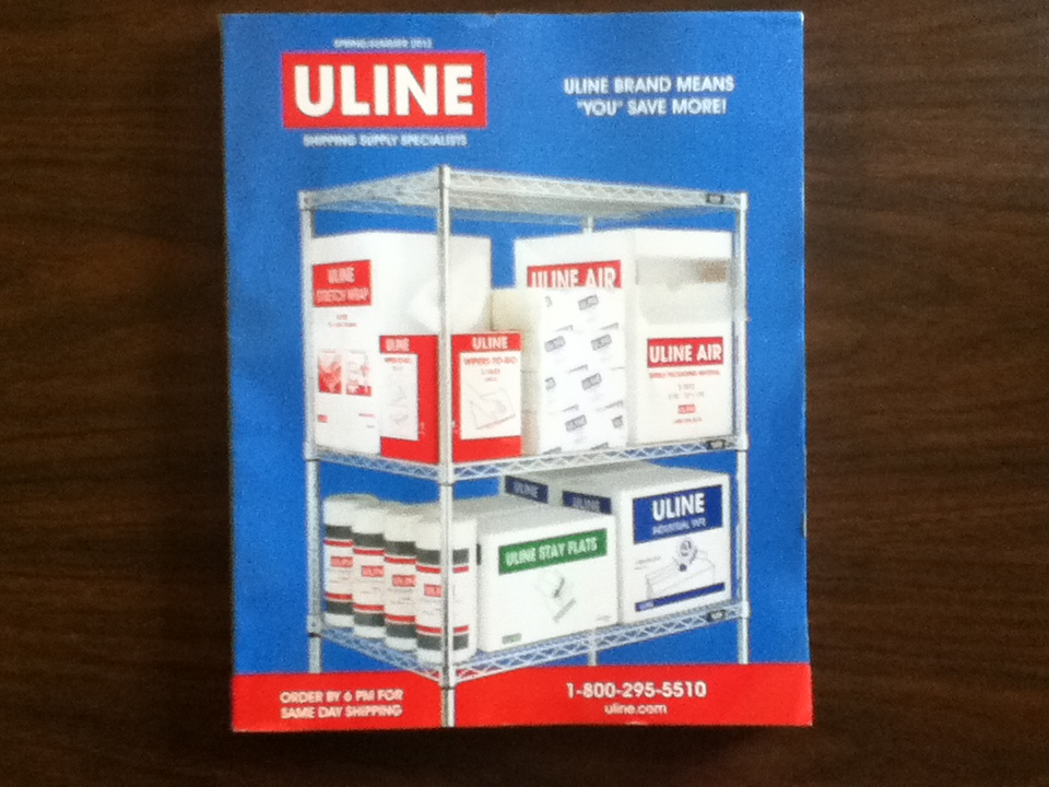 Uline coupon code free shipping