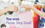 You won a $25 American Express® Shop Small® Gift Card from FedEx to use on Small Business Saturday®.