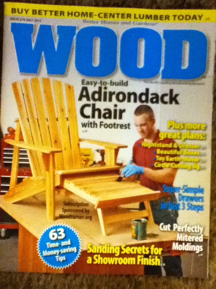 A Better Homes And Garden Wood Issue 219 July 2013