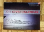 2014 Civic Calendar from National Constituti​on Center - The Museum of we the People