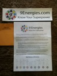 9Energies.com Know Your Superpower Sticker from Susan Fisher