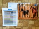 Farnam Ultimate Horse Calendar with Farnam Important Reminders for Horse Health Care Stickers & Coupons